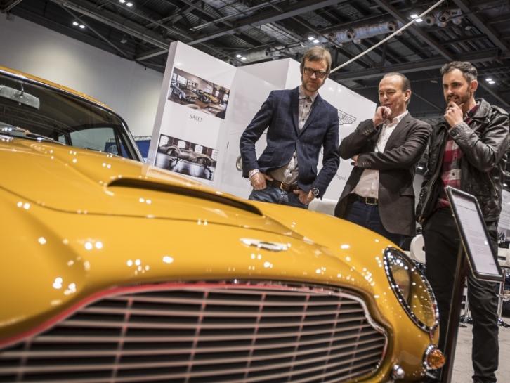 В Лондоне состоится показ классики автопрома London Classic Car Show