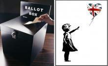 Полиция Сомерсета начала расследование по делу о предвыборной акции Бэнкси