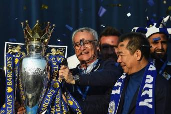победа Лестер-Сити в Премьер-Лиге