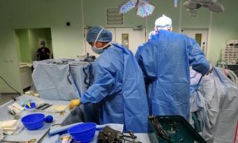 Операционная в государственной больнице