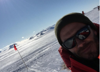 Бекхэм в Антарктиде
