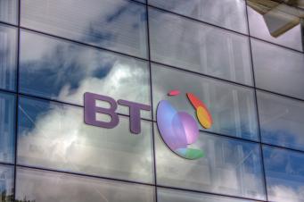 British Telecom логотип