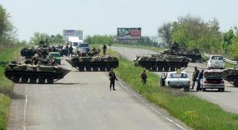 Бой в Славянске