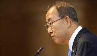 Генсек ООН призвал Киев восстанавливать государственную власть на востоке Украины мирным путем