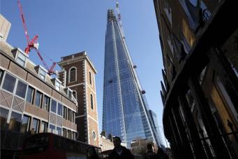 Небоскреб Shard в Лондоне