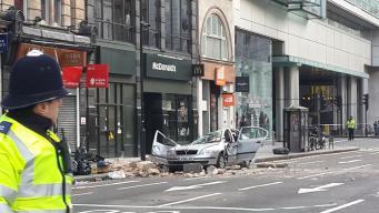В Лондоне произошло обрушение здания. Один человек погиб