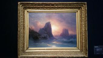 """Картина Айвазовского """"Кораблекрушение"""" на торгах Christie's"""