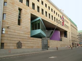 Посольство Великобритании в Берлине