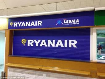 информационная стойка Ryanair