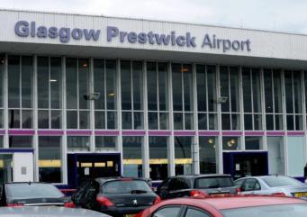 Аэропорт Прествик Шотландия