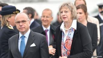 министры внутренних дел Великобритании и Франции