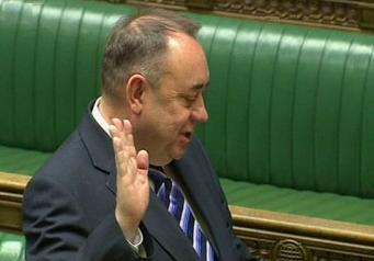 Алекс Сэлмонд в парламенте