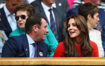 герцогиня Кейт на Уимблдонском турнире