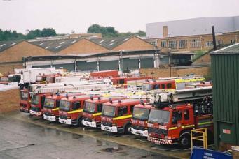 лондонская служба пожарной охраны