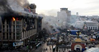 Одесса, пожар в Доме профсоюзов