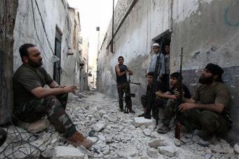 В Сирии боевики провели минометный обстрел города Алеппо