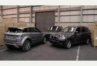 Краденые люксовые автомобили