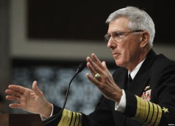 Командующий американскими ВМС в Тихоокеанском регионе адмирал Сэмюэл Локлир 3, провел закрытую встречу
