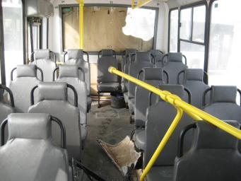 ДТП с участием грузовиков и автобуса