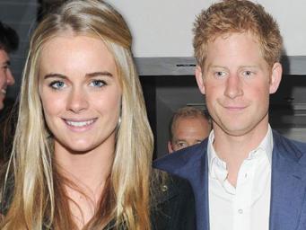 Принц Гарри официально представил свою подругу Крессиду Бонас