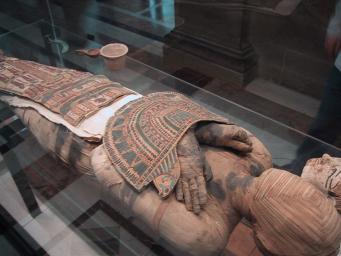 У мумии нашли интимную татуировку