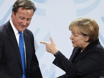 Реформа Евросоюза станет основной темой переговоров Меркель и Кэмерона в Лондоне