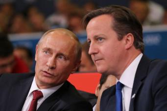 Премьер Великобритании призвал Путина к поддержке формирования контактной группы по Украине
