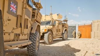 военная техника в Кэмп Бастион