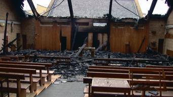 Пожар в католической церкви Эдинбурга