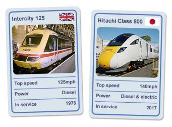 InterCity 125 и Hitachi 800