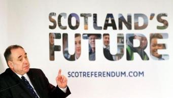Алекс Сэлмонд, министр Шотландии