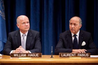Фабиус и Хейг обвиняют Асада в срыве Женева-2