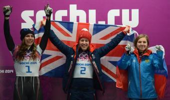 Элизабет Ярнолд - олимпийская чемпионка 2014 года в скелетоне