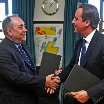 Великобритания не даст Шотландии фунт стерлингов