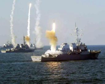 ВМС Великобритании во время учений