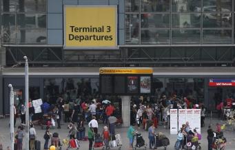Британский аэропорт