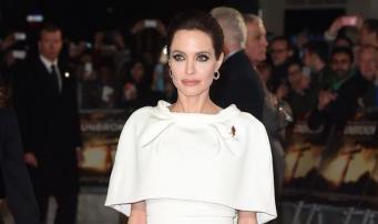 Анджелина Джоли на лондонской премьере Unbroken