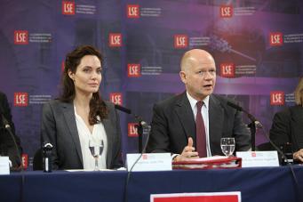 Анджелина Джоли и Уильям Хейг
