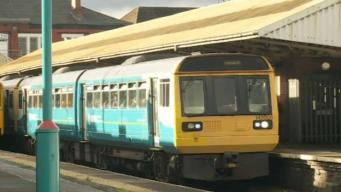 поезд Arriva Train Wales