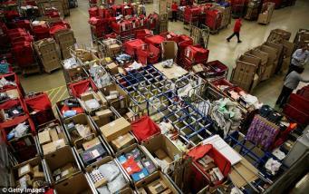 сортировочный цех почты