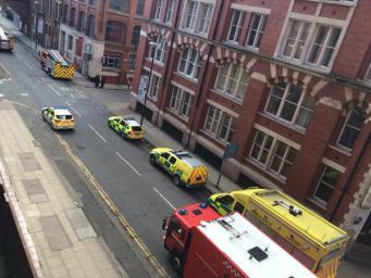Инцидент в Манчестере
