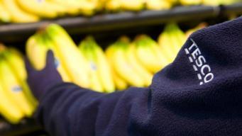 бананы в Tesco