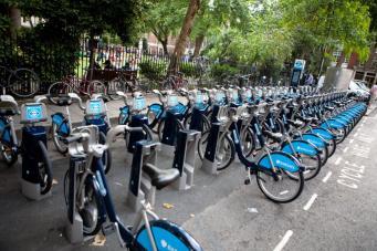 лондонский велопрокат