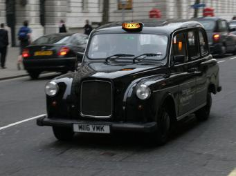 Лондонские кэбы