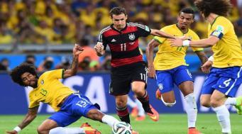 полуфинал Бразилия-Германия