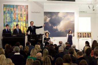 В Лондоне продали украинскую картину