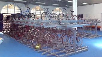 перехватывающая велопарковка на вокзале