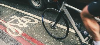 Велодорожка на проезжей части