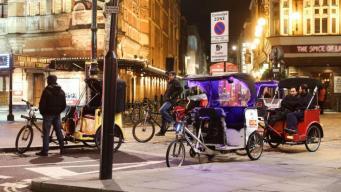 Велорикши в Лондоне