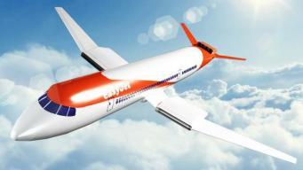 прототип гибридного самолета
